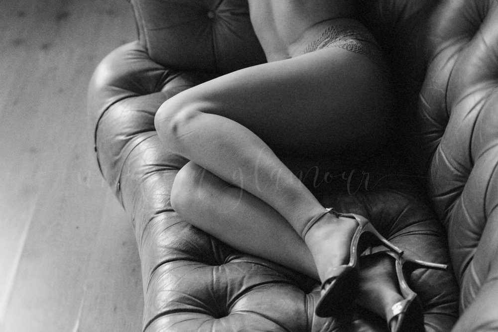 black and white boudoir boston