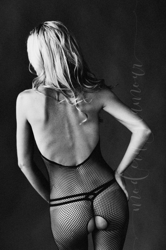 boudoir fishnet bodysuit