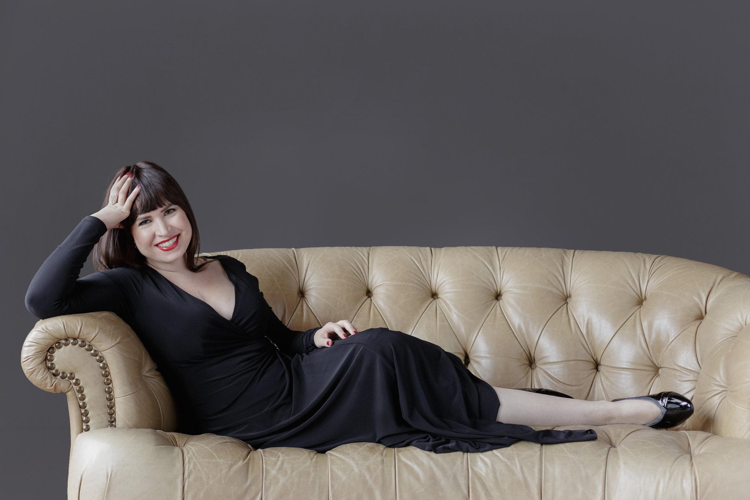 boston modern glamour personal branding portrait singer