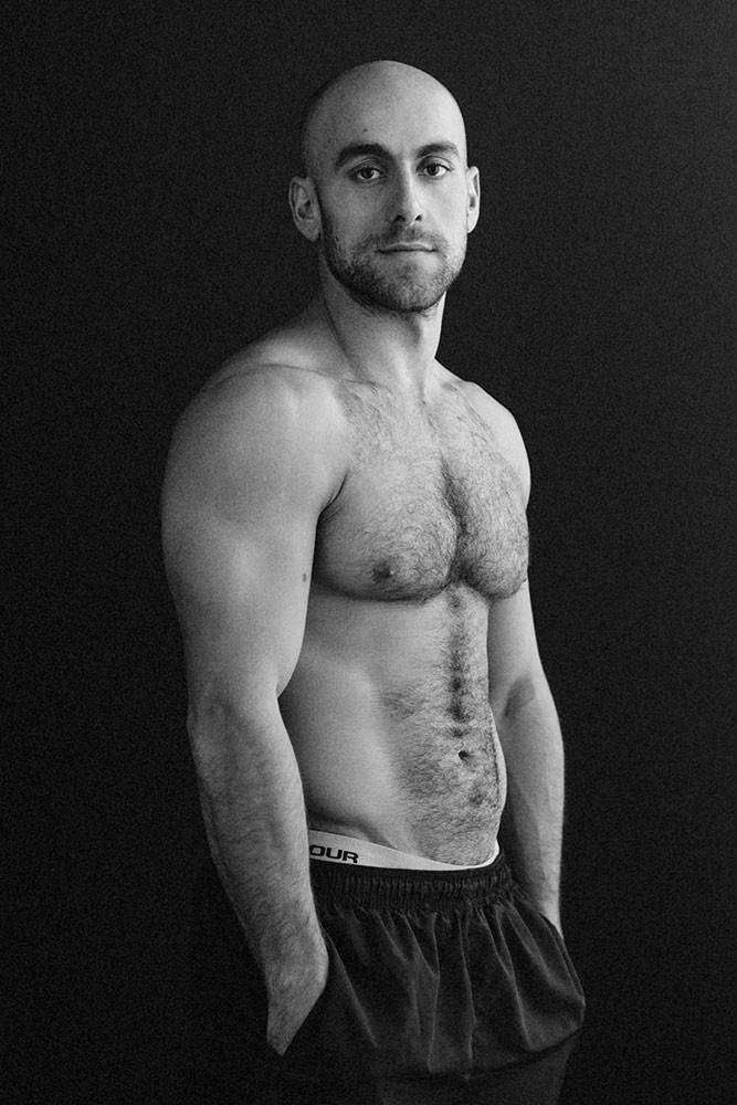 male portrait photography fitness boston