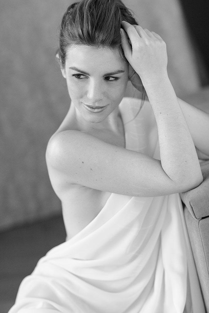 white sheet implied nude photography boston boudoir