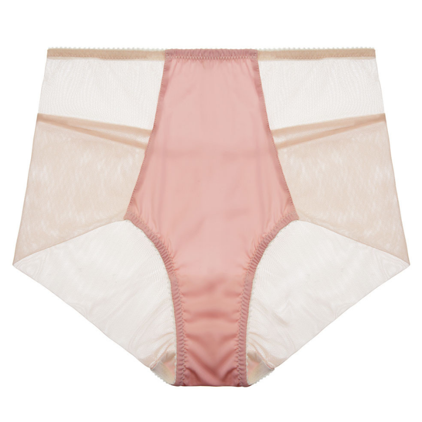 Fortnight Luna Seamless High Waist in Pink and Ivory