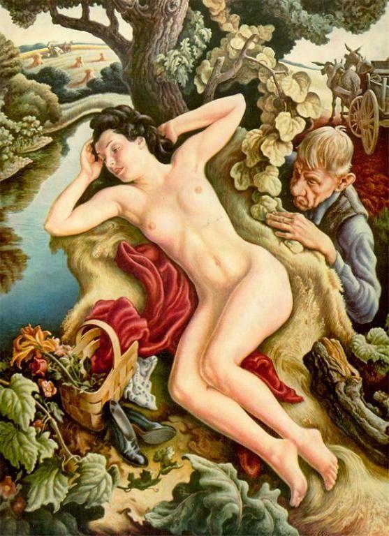 Persephone by Thomas Hart Benton