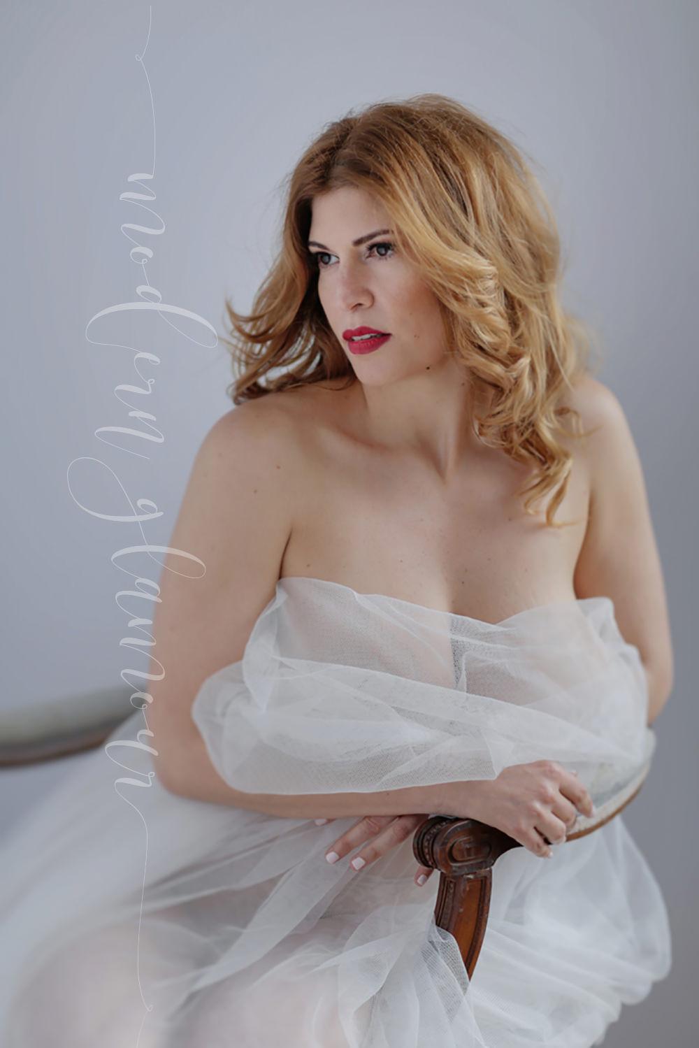 romantic boudoir soft window light boston photographer