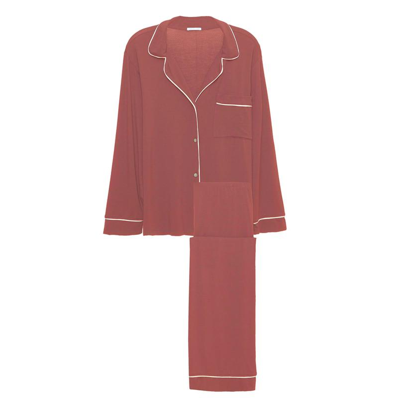 Eberjey Giselle Pj Set in Rouge
