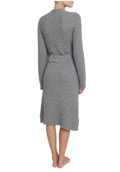Eberjey Ila Robe in Heather Grey