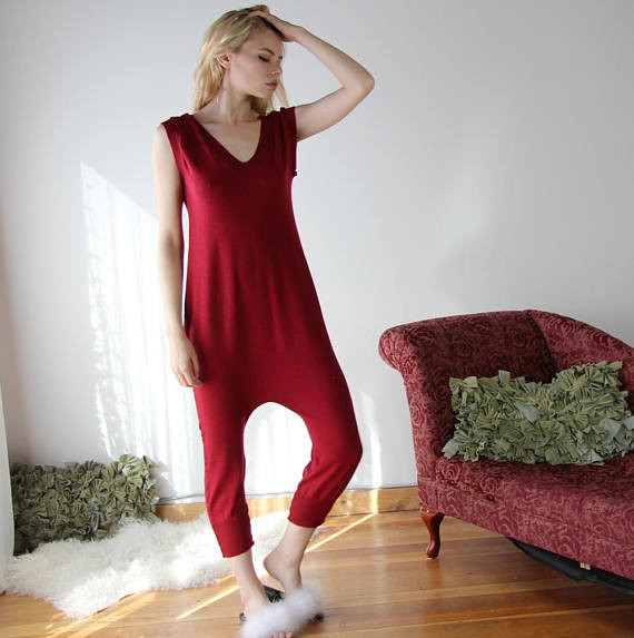 a forgiving and comfortable statement loungewear is not impossible
