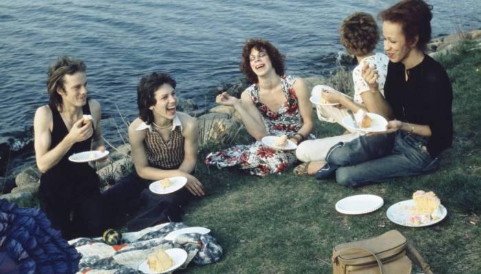 """Picnic on the Esplanade, Boston,"" 1973,© Nan Goldin"