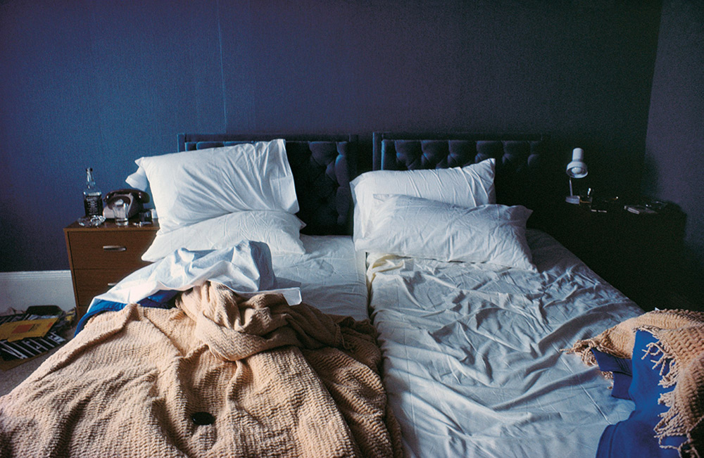 """""""Empty Beds, Boston,"""" 1979,© Nan Goldin"""