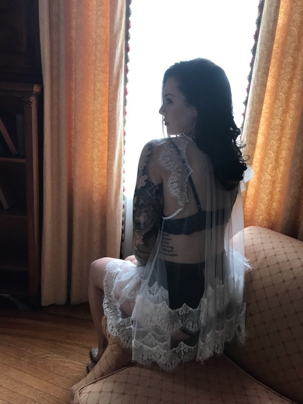 vintage style location bridal shoot boston photographer bewitchery hand made custom lingerie