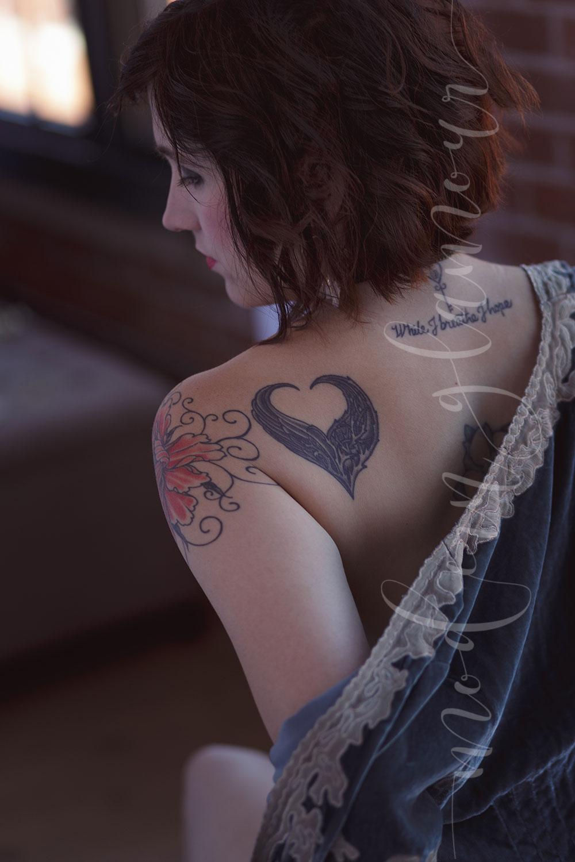 boston boudoir photos velvet tattoos
