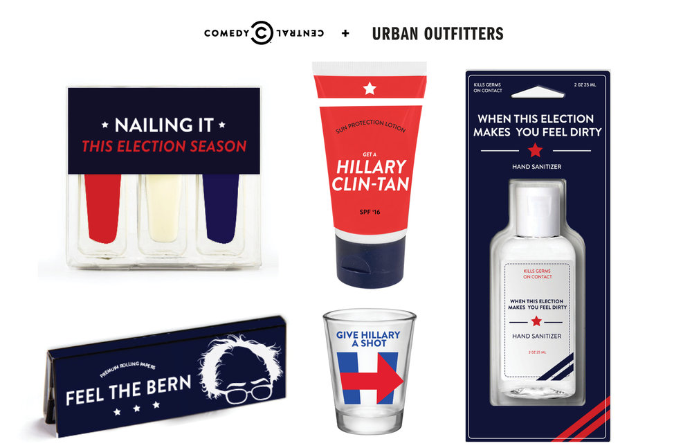Comedy Central's Democalpyse for Urban Outfitters 2016