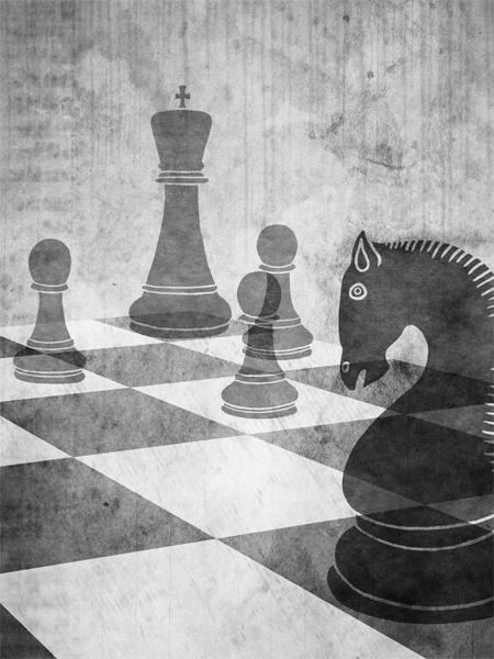 A te, con affetto - La scacchiera (the chessboard)