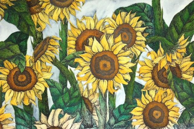sunflowers circa 1996
