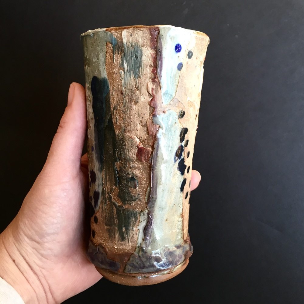One of my new tumblers exploring embracing the imperfections.