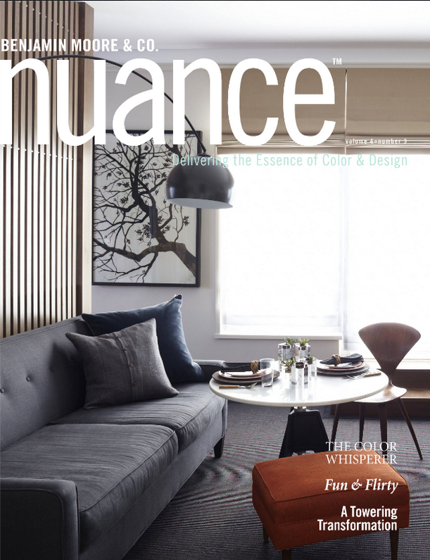 MR CALL in NUANCE Magazine