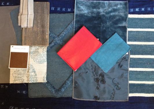 Palette for our Dumbo Loft: GUY BORDIN