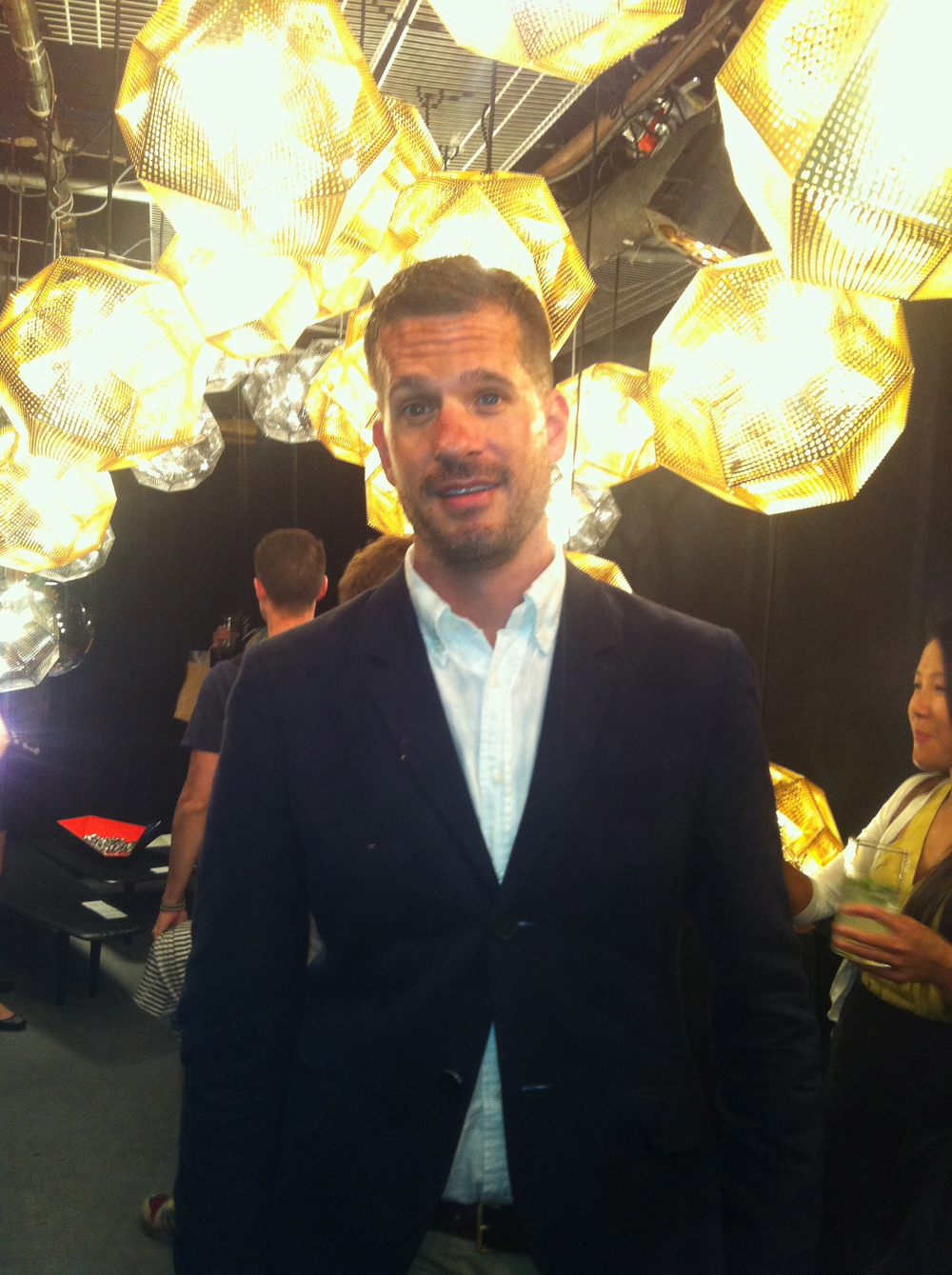 Mr Call at the Tom Dixon London Underground Event Sponsored by Surface Magazine