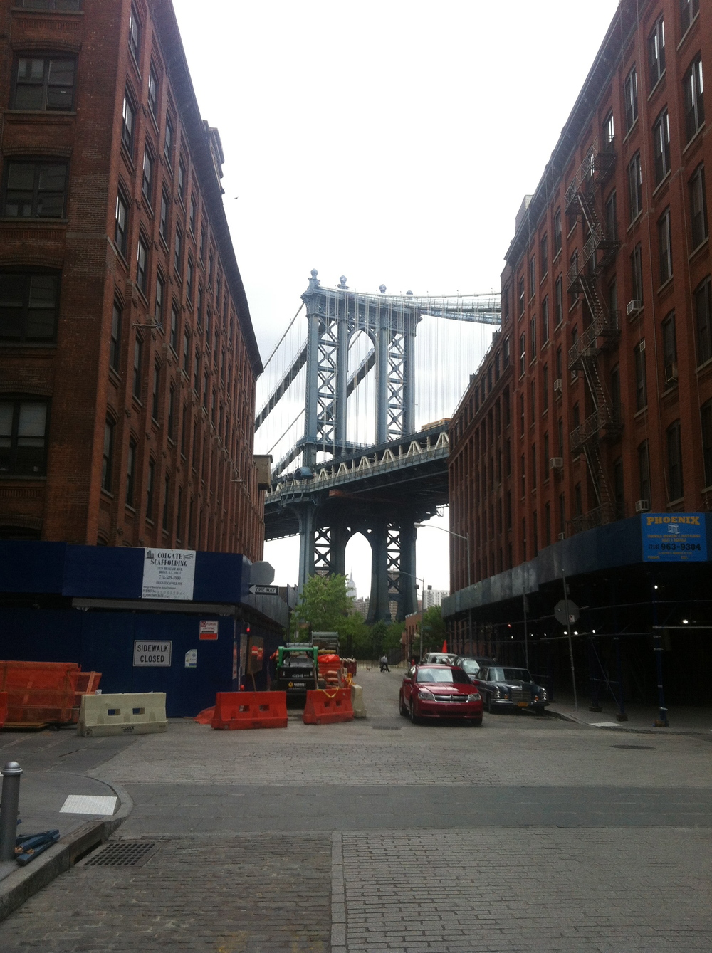 DUMBO neighborhood pics and Project Inspiration