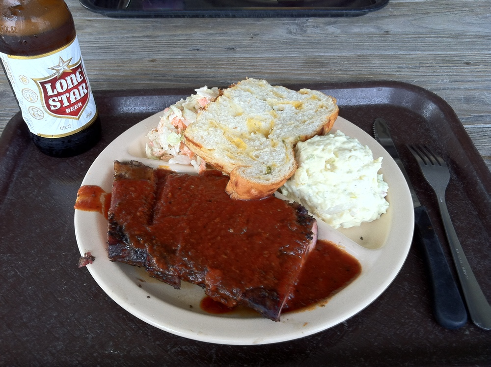 Mr Call visits Goode Company BBQ in Houston