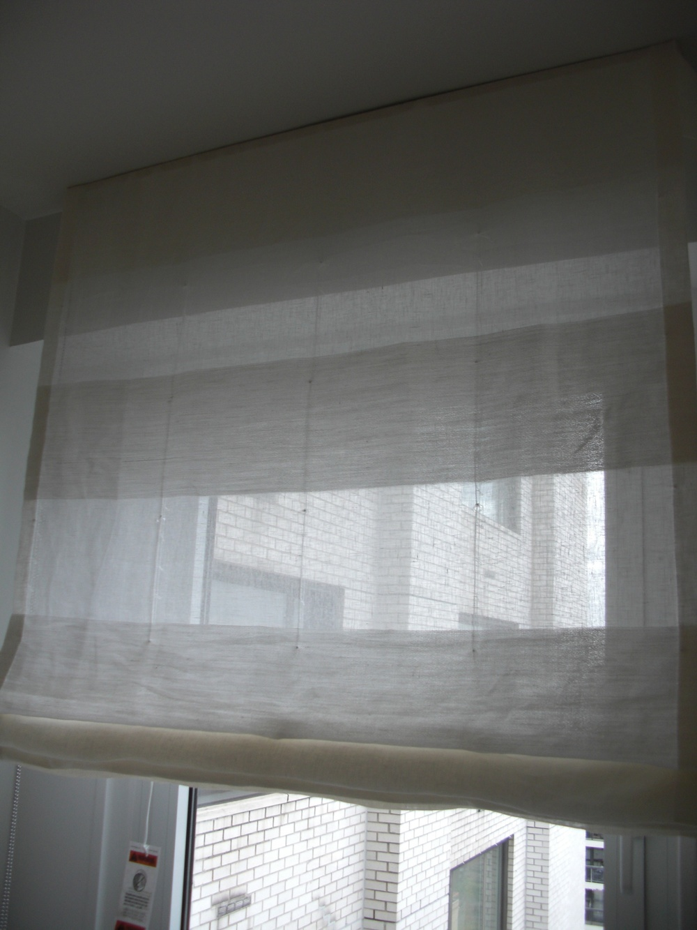 Roman Shades: Structured vs Unconstructed