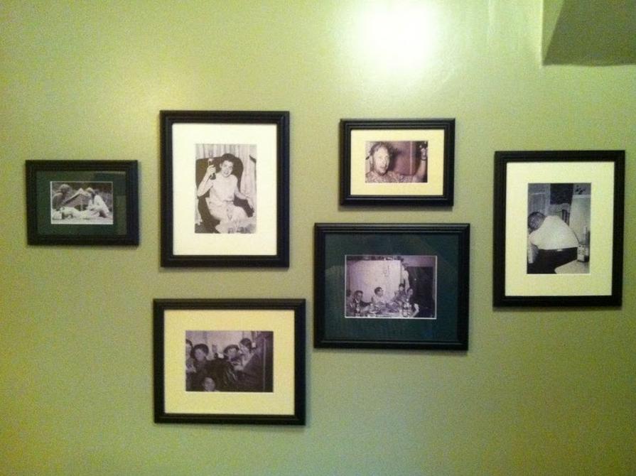 Brooklyn Restaurant: Art for the Bathrooms (aka Drunken Family Portraits)