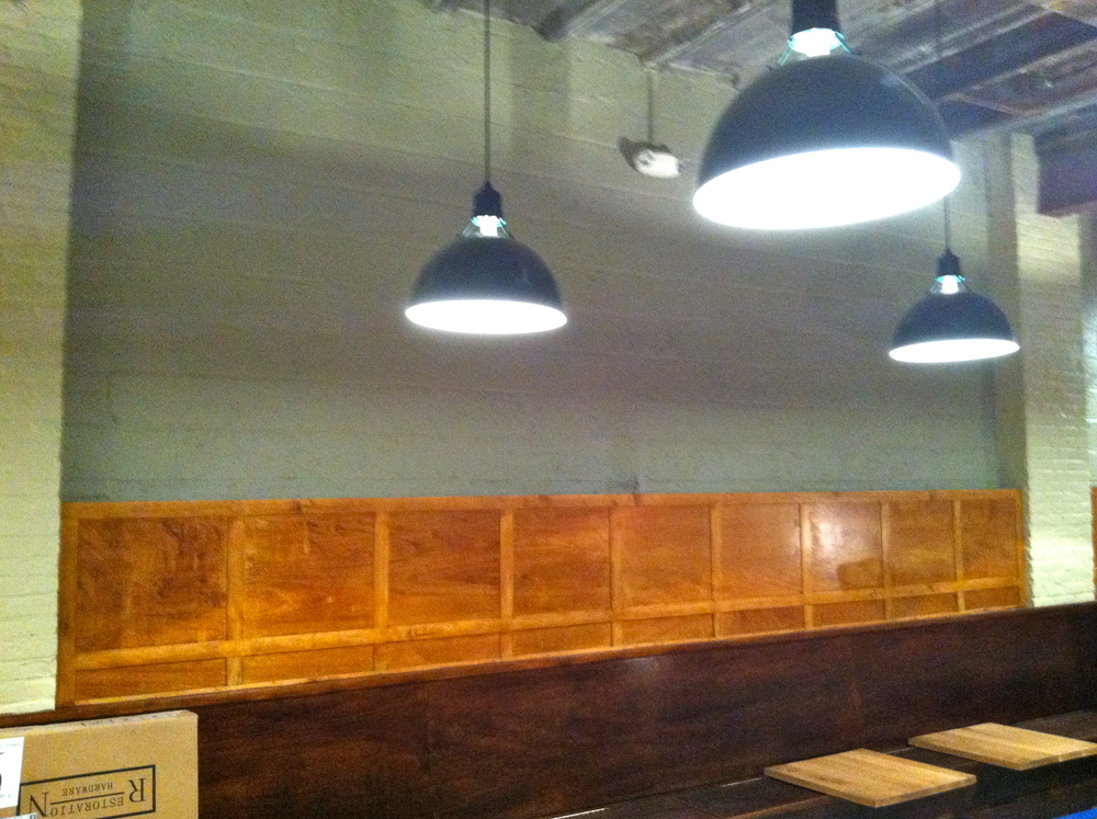 Architectural Details & Paint Colors for the Brooklyn Restaurant