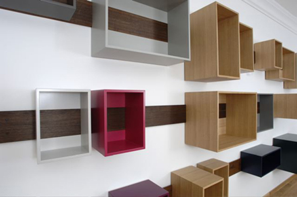 Sliding Shelves by Lutzhuening