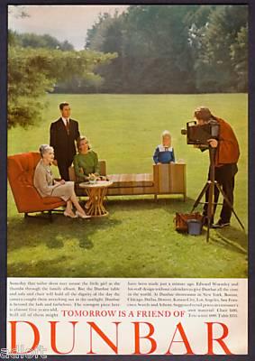 Vintage Dunbar Advertisements