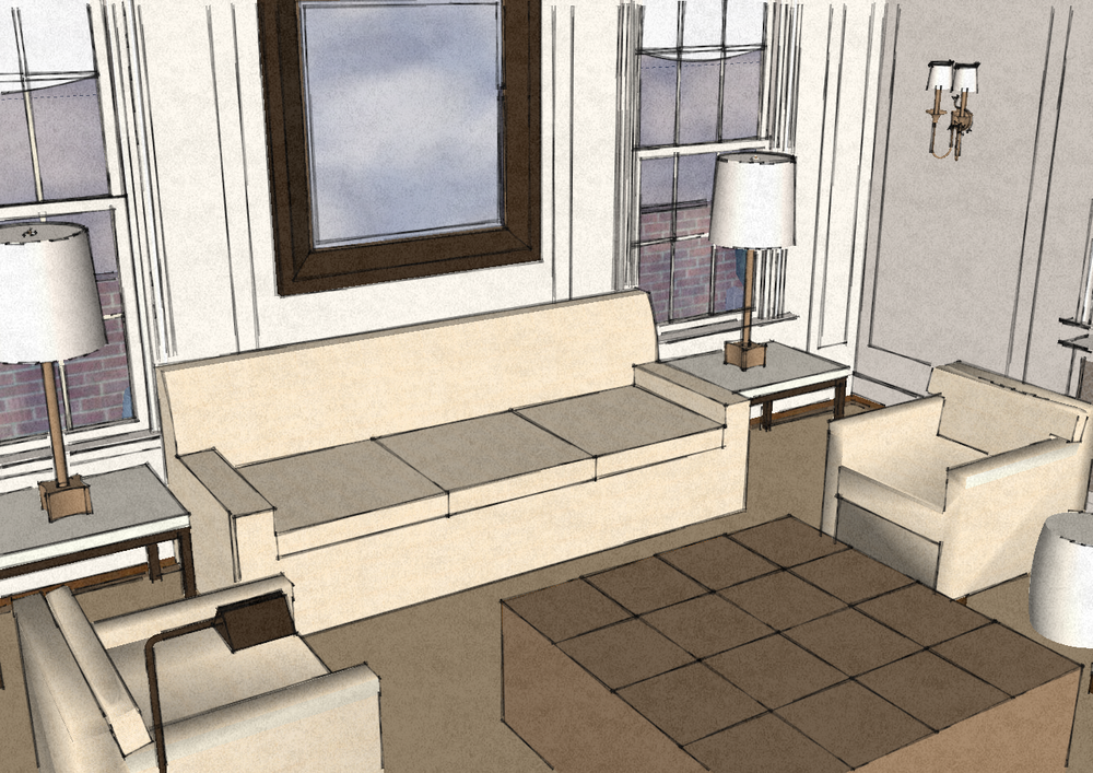 Client accepts our proposal for their lower Fifth Avenue penthouse