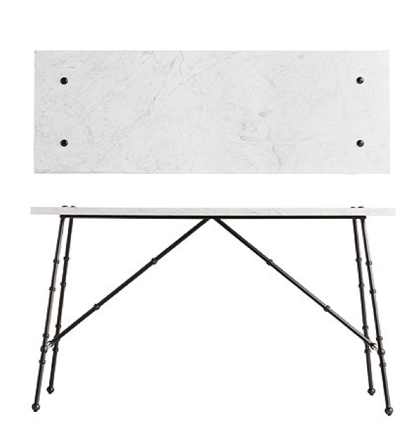 CLIENT PROPOSAL_ Custom Marble Console for Outdoor Screened Porch