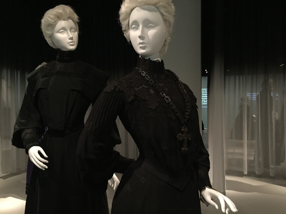 American Mourning Dress, ca. 1903