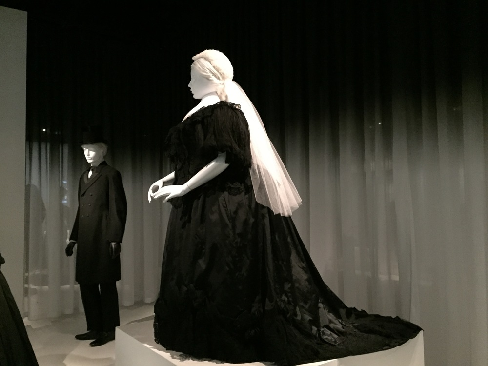 British mourning dress, ca. 1894-95, worn by Queen Victoria