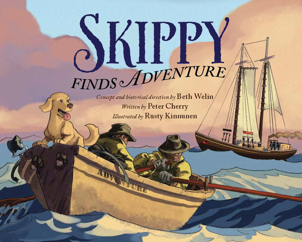 Skippy Finds Adventure, illustrated by Rusty! Click for more info.