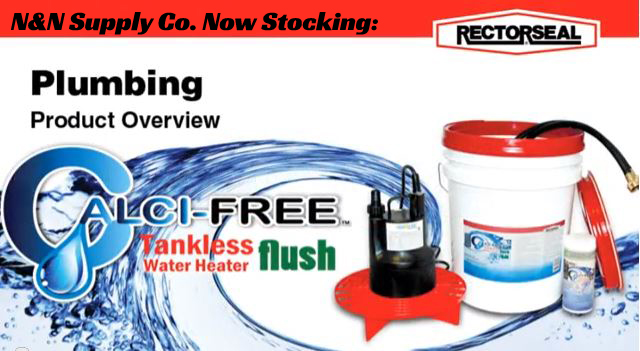 calci-free tankless water heater flush kit — n&n supply company, inc.