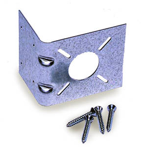 Termination Bracket  provides mounting surface for termination fitting assembly.