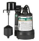 Duramac 5025PVSP 1/4HP Sump Pump - 1-1/2 Discharge (Specs)