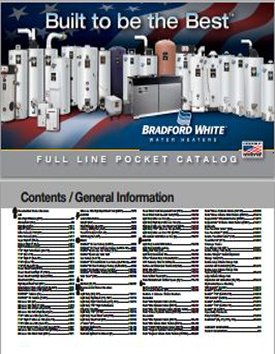 Bradford White 2013 Pocket Catalog