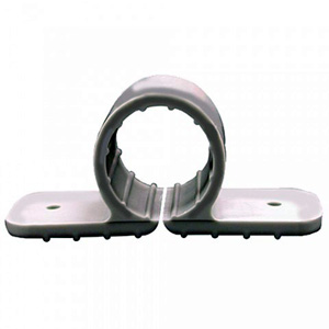 Plastic Two Hole Pipe Clamp