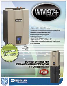 WM97+ Wall Mount Gas Boiler