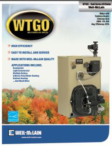 WTGo Oil Boiler (Less Burner)