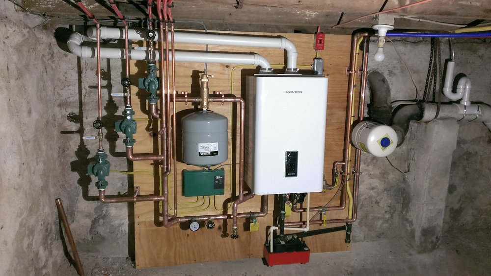 Navien Combination Boiler
