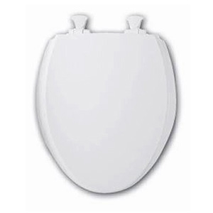 620TT  Closed Front With Cover  Round Plastic  (Discontinued)  Stock: White, Peach, Onyx