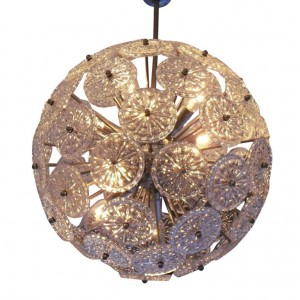 belgian snowflake chandelier, 1stdibs.com, $3600
