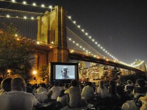 movies! brooklyn bridge! magic!