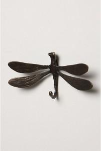 anthropologie dragonfly hook
