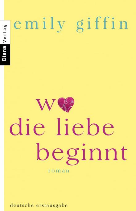 Wo die Liebe beginnt [German]
