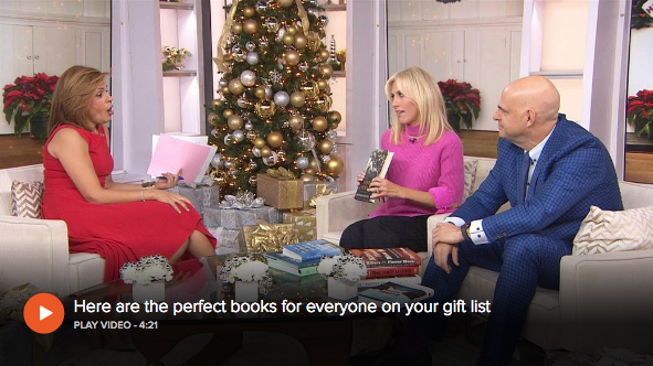 Best-selling authors Harlan Coben and Emily Giffin join TODAY with book recommendations for everyone on your gift list. Griffin's fiction suggestions include  The Story of Arthur Truluv  by Elizabeth Berg; Coben praises  Bluebird, Bluebird  by Attica Locke as well as  The Hate U Give  by Angie Thomas. More on this story  here .