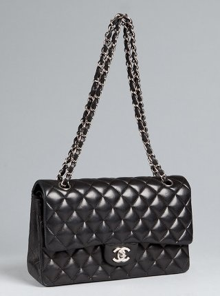 Chanel's coveted 2.55 quilted leather handbag.