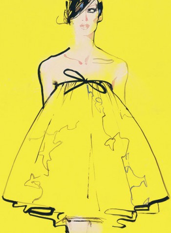 David Downton, Fashion Illustrator.